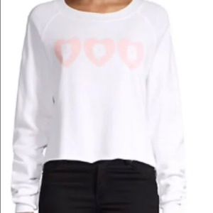 NWT wildfox boo top!!